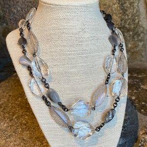 Lia Sophia Stone Chain Necklace